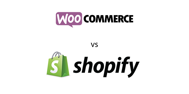shopify vs woocomerce ecommerce solutions