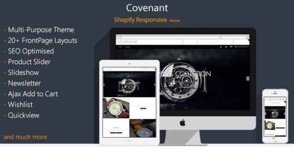 Covenant – Responsive Shopify Theme