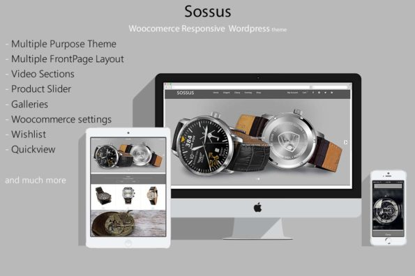 Sossus – Reponsive Woocommerce Shop Theme
