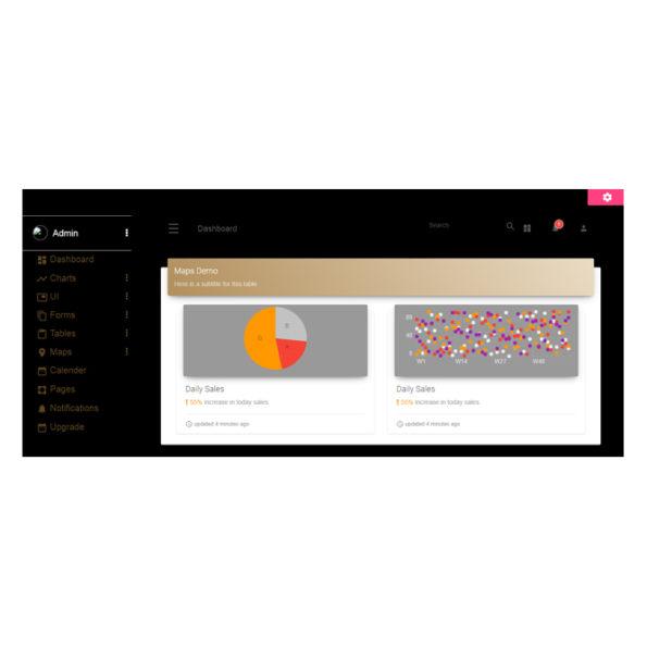 Material Dashboard Pro Angular 4